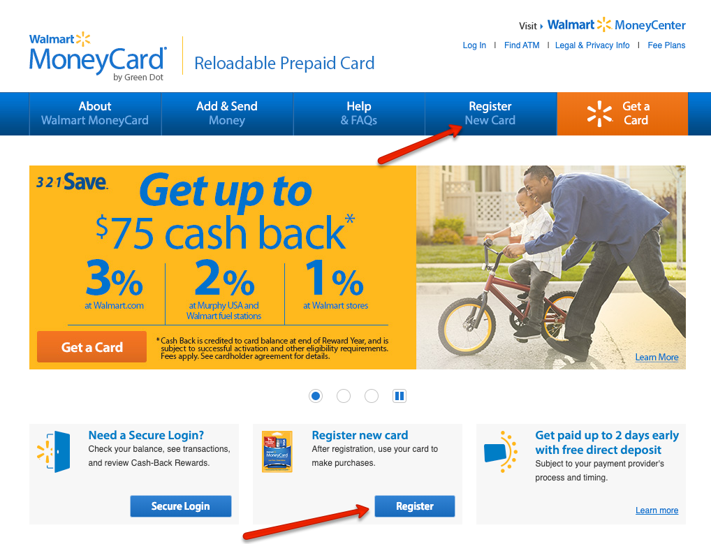 """How to Activate and Register a new Walmart MoneyCard"""