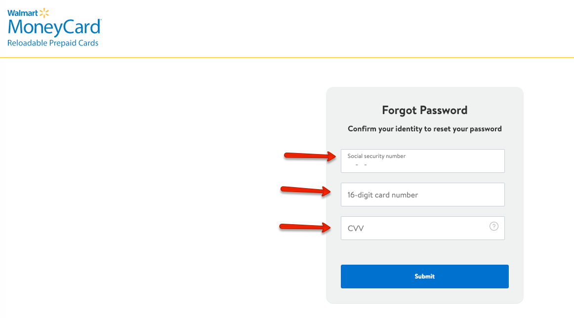 """How to Retrieve MoneyCard Password"""