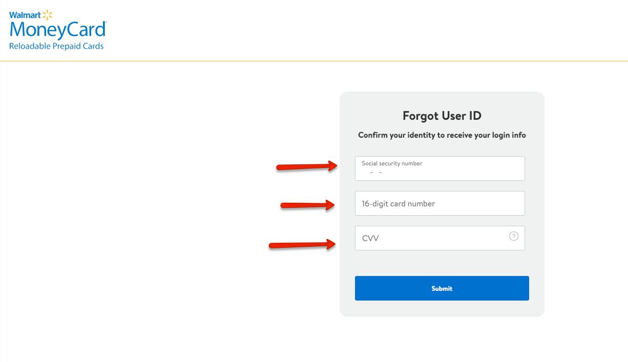 """Retrieve MoneyCard User ID"""