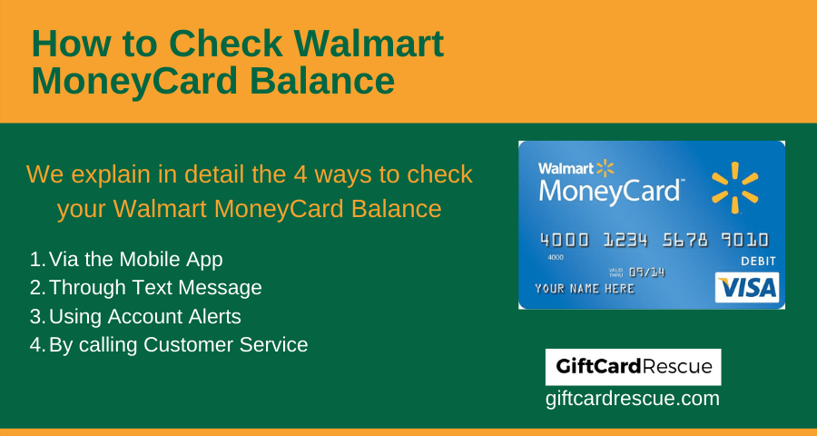 """How to Check Walmart MoneyCard Balance"""