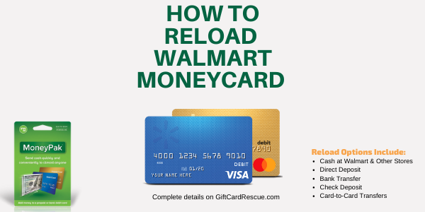 """How to Load Your Walmart MoneyCard"""