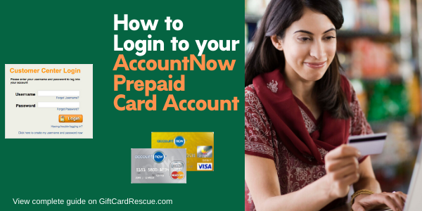 """How to login to AccountNow account online"""