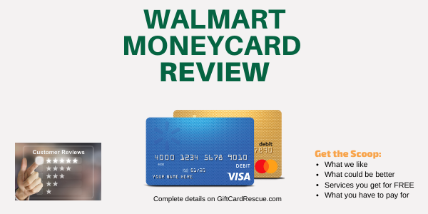 """Is the Walmart MoneyCard good"""